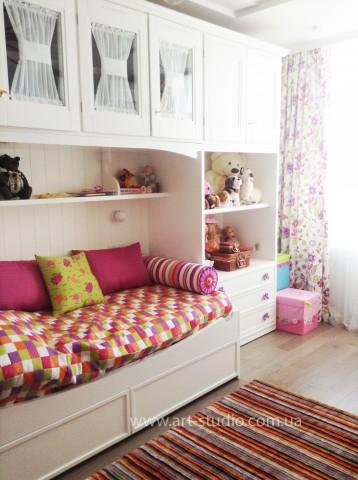 Дизайн и пошив штор в детскую комнату