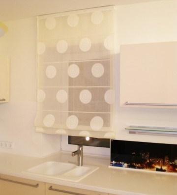 Римская штора на кухню, цена - 702 грн.